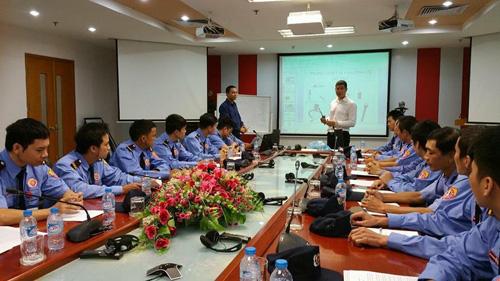 Đội ngũ bảo vệ của TNS luôn cam kết cung cấp chất lượng dịch vụ an ninh tốt nhất tới khách hàng thông các khóa đào tạo, huấn luyện.