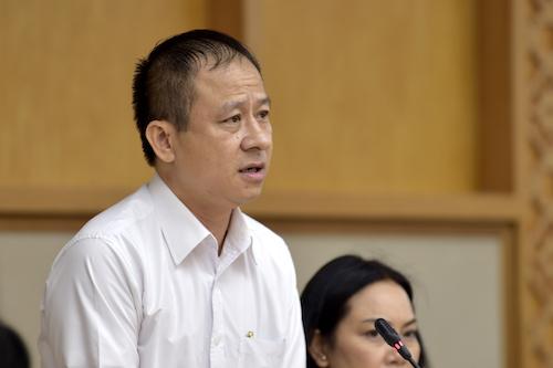 Ông Nguyễn Công Hùng - Phó chủ tịch Hiệp hội Taxi Hà Nội. Ảnh: Nhật Bắc