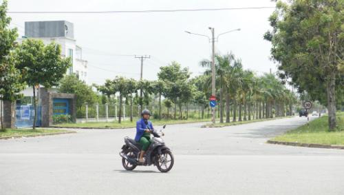Một phần diện tích của khu công nghiệp Sóng Thần 3 sẽ được Công ty Cổ phần Đại Nam xây dựng làm khu đô thị. Ảnh: Nguyệt Triều