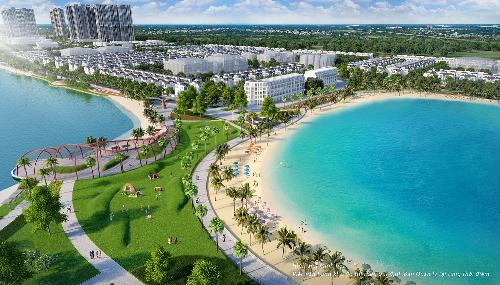Dự án VinCity đầu tiên mang tên 'Thành phố đại dương'