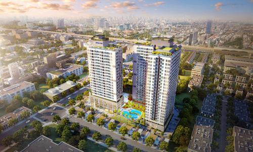 Ảnh phối cảnh minh họa dự án Rivera Park Hà Nội