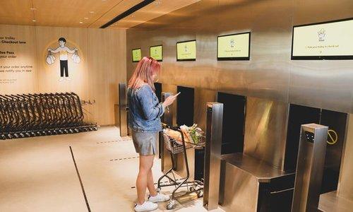 Siêu thị không nhân viên ở Singapore