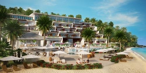 Phối cảnh khu nghỉ dưỡng Kimpton Kawana Bay tại Grenada đang triển khai chương trình đầu tư nhập quốc tịch (CBI).