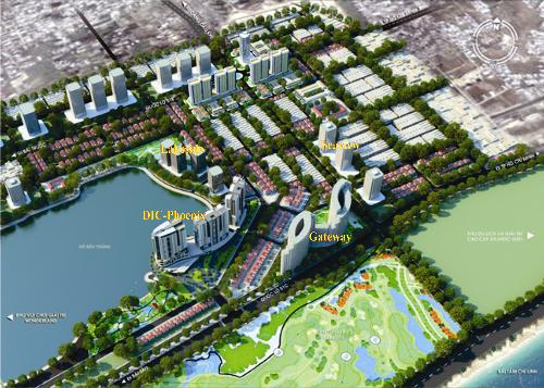 Phối cảnh tổng quan dự án Vũng Tàu Gateway. Liên hệ sàn giao dịch bất động sản DIC (110 cao ốc DIC-Phoenix B, đường Chí Linh 7, khu đô thị Chí Linh, phường Nguyễn An Ninh, TP Vũng Tàu), hotline 0909988555 - 0905163672 hoặc truy cập tại đây.