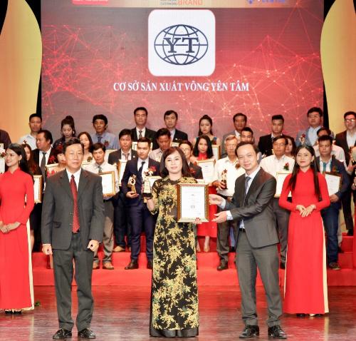 Cơ sở sản xuất võng Yên Tâm lọt top 100 thương hiệu tiêu biểu hội nhập châu Á - Thái Bình Dương.