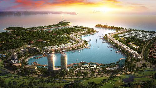 Tổng quan dự án Tuần Châu Marina với tầm nhìn trọn vẹn cảng Ngọc Châu.