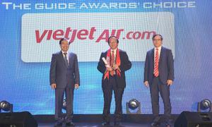 Vietjet đạt giải 'Hãng hàng không tiên phong' tại The Guide Awards 2018