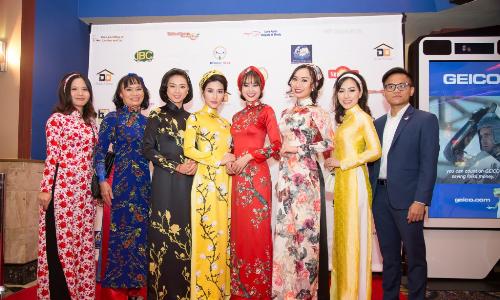 Hoa hậu Trang Lương dự lễ mắt phim 'Cô Ba Sài Gòn' tại Mỹ