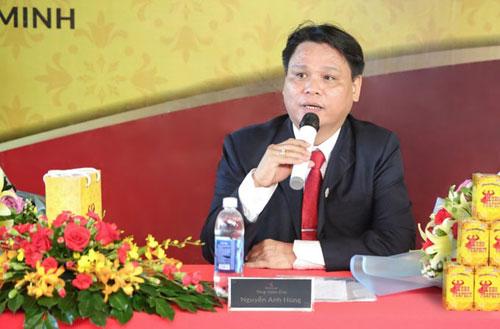 Ông Nguyễn Anh Hùng Tổng giám đốc Hero Pharm. Liên hệ qua hotline: 1900 633 953 và website: heroperfect.vn để được đội ngũ bác sĩ, dược sĩ và chuyên viên tư vấn hỗ trợ.