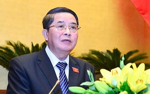 Chủ nhiệm Uỷ ban Tài chính ngân sách của Quốc hội, ông Nguyễn Đức Hải. Ảnh: Quochoi.vn