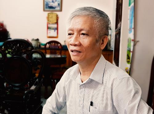 Ông Nguyễn Tương - Phó tổng thư ký hội doanh nghiệp dịch vụ Logistics Việt Nam.