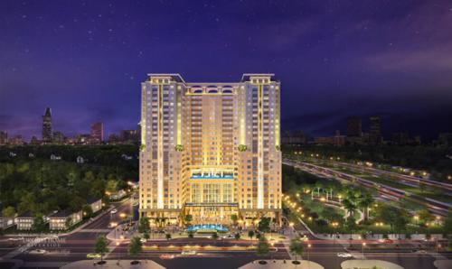 Khu cao ốc ven sông Dream Home Riverside nằm trong khu dân cư sầm uất lớn tại quận 8rộng đến 51ha