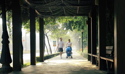 Cuộc thi ảnh Vẻ đẹp Ciputra Hanoi mang đến nhiều góc nhìn tươi mới tại khu đô thị cao cấp này.