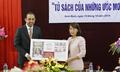 Prudential Finance tặng 'Tủ sách của những ước mơ' cho thư viện tỉnh Nam Định