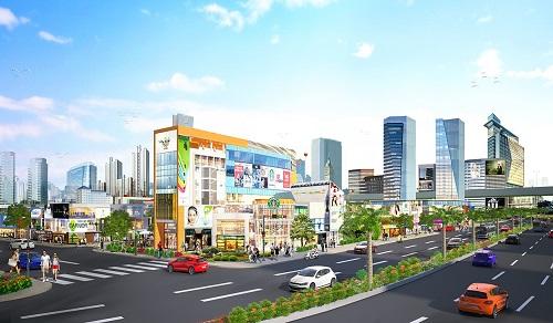 Trung tâm thương mại phức hợp Central Mall tọa lạc ngay mặt tiền quốc lộ 51, nơi sẽ tập trung các sản phẩm, dịch vụ cao cấp phục vụ người dân và du khách.