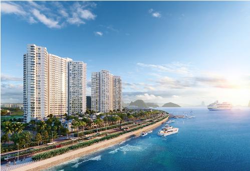 Khu nghỉ dưỡng Best Western Premier Sapphire Ha Long hưởng lợi thế một mặt hướng vịnh, một bên tựa núi.