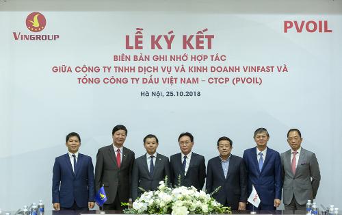 Việc hợp tác với PV Oil là bước khởi đầu quan trọng cho kế hoạch ra mắt sản phẩm xe máy điện thông minh của VinFast vào cuối năm 2018, và ô tô điện trong tương lai.