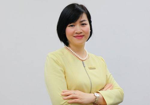 Bà Dương Thị Mai Hoa. Ảnh: ABBank