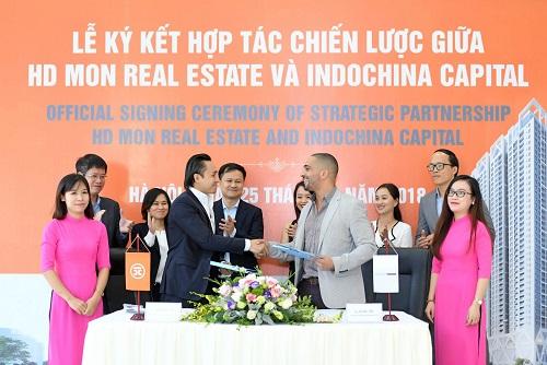 Sự hợp tác với Indochina Capital là cam kết của HD Mon trong việc phát triển những dự án mang tiêu chuẩn quốc tế, với chất lượng và sự cải tiến vượt bậc.