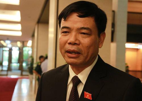 Bộ trưởng Bộ Nông nghiệp & Phát triển nông thôn Nguyễn Xuân Cường. Ảnh: V.H