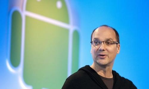 Người tạo ra Android -Andy Rubin đã rời Google năm 2014. Ảnh:AFP