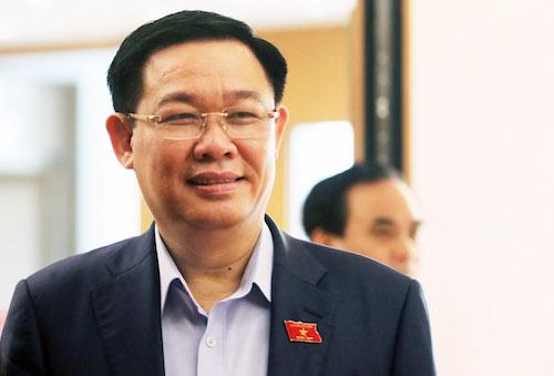 Phó thủ tướng Vương Đình Huệ. Ảnh: Võ Hải