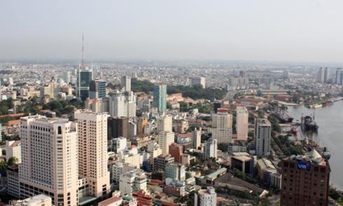 Thị trường khách sạn tại khu vực lõi trung tâm TP HCM. Ảnh: Vũ Lê