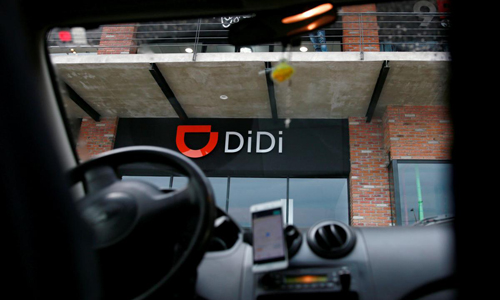 Didi Chuxing hiện là hãng chiếm thị phần gọi xe công nghệ lớn nhất Trung Quốc. Ảnh: Reuters