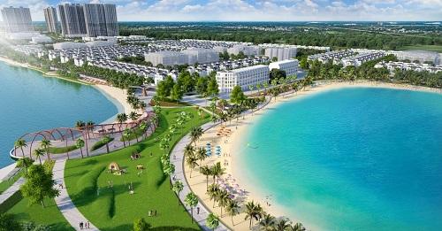 VinCity Ocean Park với biển hồ nhân tạo