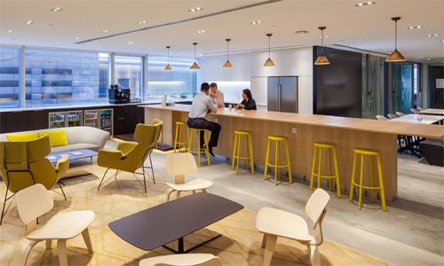 Co-working mô hình văn phòng chia sẻ đang thu hút các khách thuê công nghệ. Ảnh: CBRE
