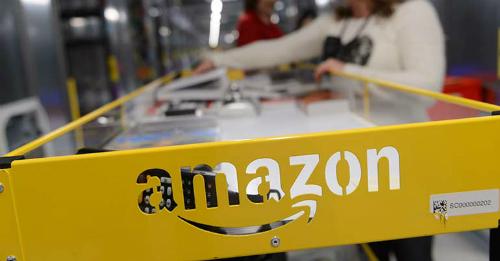 Amazon là mất vị trí thứ 2 vào tay Microsoft sau khi vốn hóa công ty này mất gần 70 tỷ USD trong phiên giao dịch cuối tuần trước. Ảnh: EPA