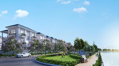 Khu biệt thự compound cao cấp Sol Villas do Công ty CP Xây dựng Sài Gòn (SCC) đầu tư và DKRA Vietnam phân phối độc quyền.