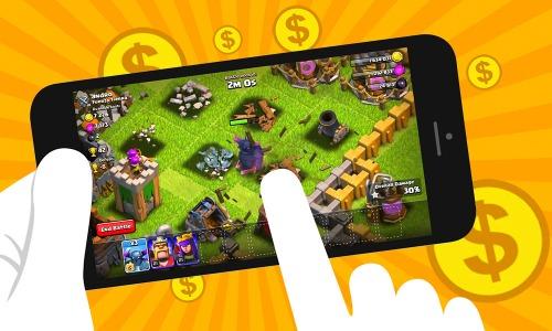 Quảng cáo trên game di động là đối thủ đang lên trong thị trường quảng cáo trực tuyến. Ảnh: Pentasia