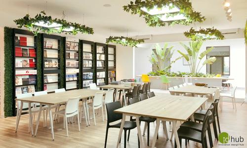 Phòng đa năng được thiết kế không gian mở.