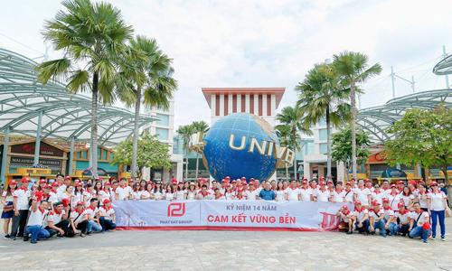 Chương trình team building thường niên của Phát Đạtluôn được đầu tư kỹ lưỡng về nội dung.