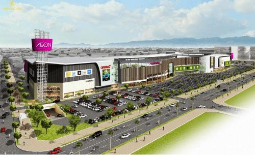 Trung tâm thương mại Aeon Mall được dự đoán là đòn bẩy cho bất động sản phía Tây Hà Nội.