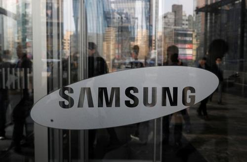 Bên ngoài văn phòng của Samsung tại Seoul (Hàn Quốc). Ảnh: Reuters