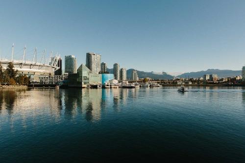 Một góc thành phố Vancouver. Ảnh: Bloomberg