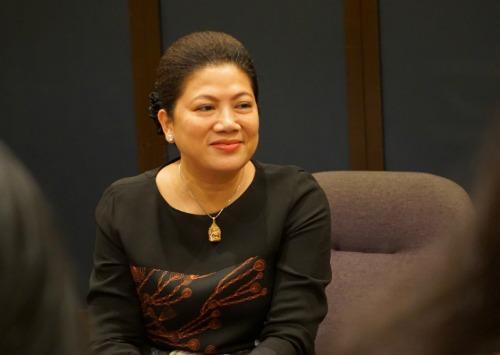 Nhà sáng lập ứng dụng LIAN - Bà Đỗ Thị Kim Liên. Ảnh: Viễn Thông