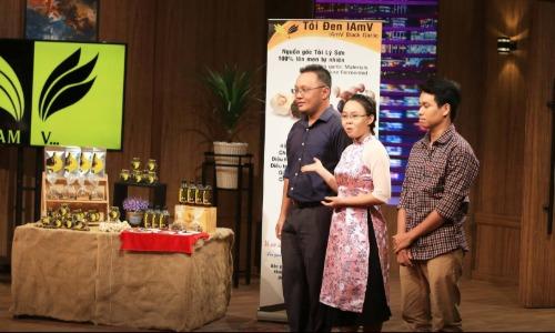 Buổi thương thuyết của startup I AM V trong chương trình Thương vụ bạc tỷ. Ảnh: Shar Tank Việt Nam