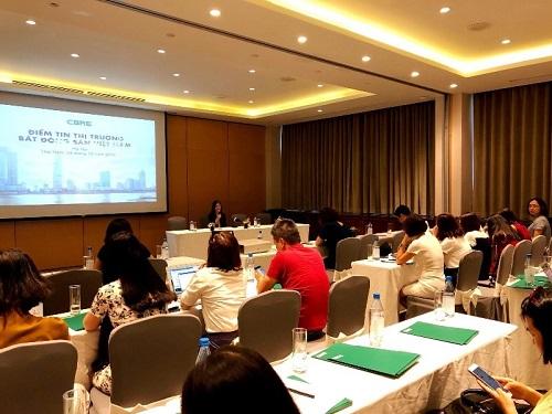 CBRE Việt Nam công bố báo cáo quý III vào 4/10 tại Hà Nội.
