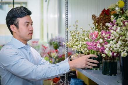 Hoa online 247 dùng công nghệ giúp hoa giữ độ tươi đến một tuần