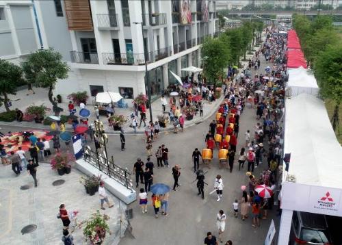 Ngày hội văn hóa Nhật Bản diễn ra ngày 23/9 vừa qua là sự kiện điểm nhấn mở màn cho hàng loạt các sự kiện văn hóa lớn sẽ diễn ra thường kỳ tại The Manor Central Park.