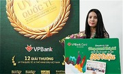 Khách hàng VPBank trúng chuyến du lịch 800 triệu đồng