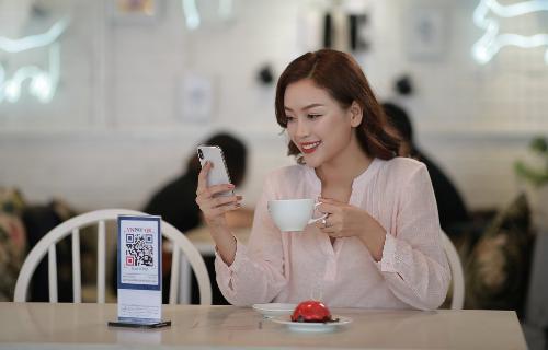 Ứng dụng Agribank E-Mobile Banking có chức năng thanh toán bằng QR Pay. Ảnh: Agribank