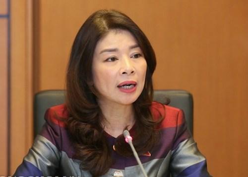 Bà Lê Thu Hà - Uỷ viên thường trực Uỷ ban Đối ngoại của Quốc hội. Ảnh: Q.H