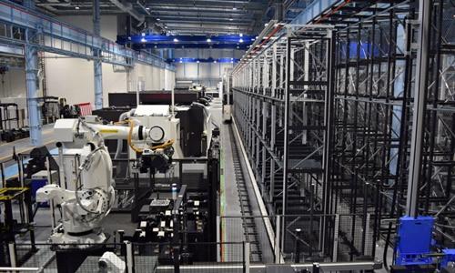 Nhà máy chính của Okuma tại tỉnh Aichi. Ảnh: Nikkei