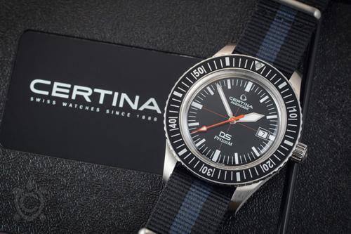 Certina là thương hiệu đồng hồ nổi tiếng thế giới tới từ Thụy Sĩ