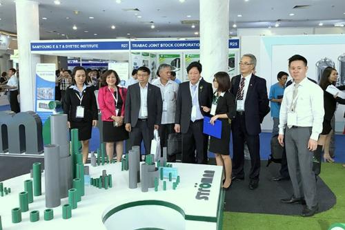 Tập đoàn Tân Á Đại Thành tham dự Triển lãm quốc tế Vietwater 2018 (XIN EDIT_CHIHTK2)