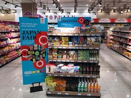 Thực phẩm và sản phẩm thiết yếu của Nhật Bản vào thị trường Việt Nam